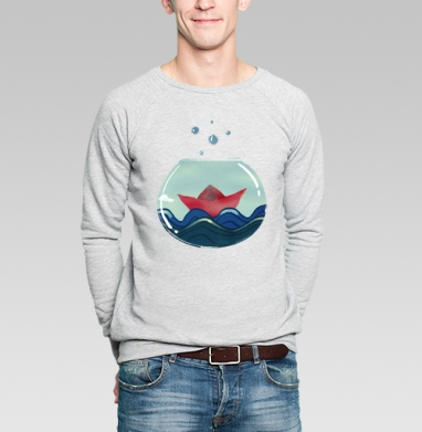 Алые паруса - Купить мужские свитшоты морские  в Москве, цена мужских свитшотов морских   с прикольными принтами - магазин дизайнерской одежды MaryJane
