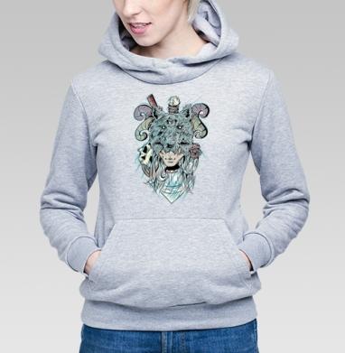 Охотница  - Купить детские толстовки с черепом в Москве, цена детских толстовок с черепом  с прикольными принтами - магазин дизайнерской одежды MaryJane