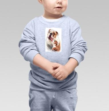 Материнская любовь - Купить детские свитшоты нежность в Москве, цена детских свитшотов нежность  с прикольными принтами - магазин дизайнерской одежды MaryJane