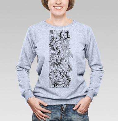 Стрекоза в зарослях - Купить детские свитшоты с природой в Москве, цена детских свитшотов с природой  с прикольными принтами - магазин дизайнерской одежды MaryJane