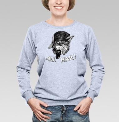Пати Вульф - Купить детские свитшоты с волками в Москве, цена детских свитшотов с волками  с прикольными принтами - магазин дизайнерской одежды MaryJane
