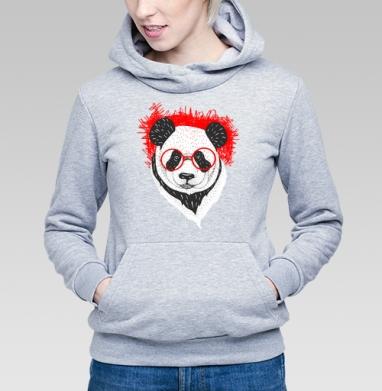 Умный панда - Толстовки женские с животными