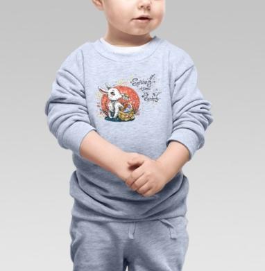 Время весны идет - Купить детские свитшоты с деревьями в Москве, цена детских свитшотов с деревьями  с прикольными принтами - магазин дизайнерской одежды MaryJane