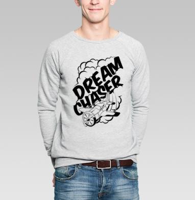 Бегущий за мечтой - Купить мужские свитшоты музыка в Москве, цена мужских свитшотов музыкальных  с прикольными принтами - магазин дизайнерской одежды MaryJane