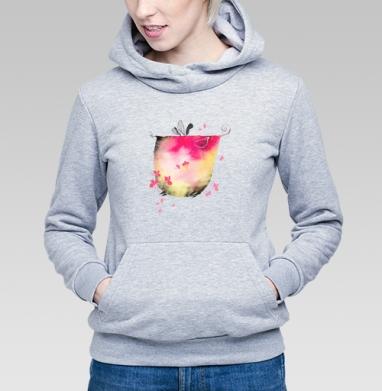 Весенний слон - Купить детские толстовки Текстуры в Москве, цена детских толстовок Текстуры с прикольными принтами - магазин дизайнерской одежды MaryJane