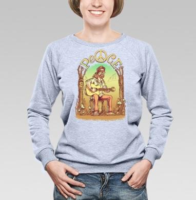 Старый лесной хиппи - Купить детские свитшоты с грибами в Москве, цена детских свитшотов с грибами с прикольными принтами - магазин дизайнерской одежды MaryJane