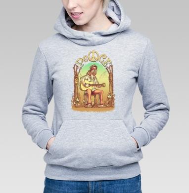 Старый лесной хиппи - Купить детские толстовки с деревьями в Москве, цена детских толстовок с деревьями  с прикольными принтами - магазин дизайнерской одежды MaryJane