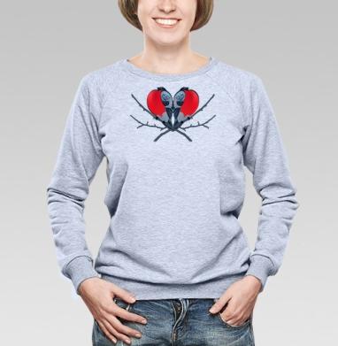 Снегирёчки - Купить детские свитшоты с птицами в Москве, цена детских свитшотов с птицами  с прикольными принтами - магазин дизайнерской одежды MaryJane