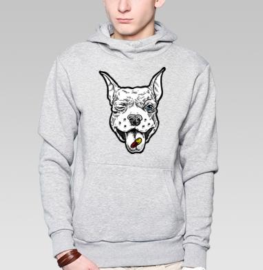 Весёлый пёс - Толстовка с койотом