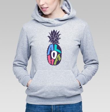 Алоха ананас - Купить детские толстовки с фруктами в Москве, цена детских толстовок с фруктами  с прикольными принтами - магазин дизайнерской одежды MaryJane