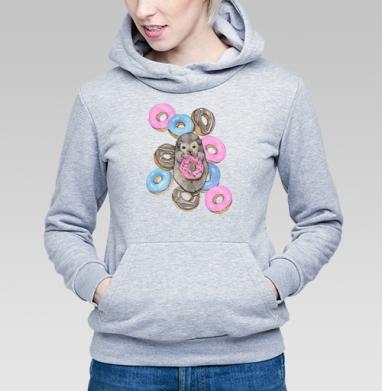 Сладкоежка - Купить детские толстовки с акварелью в Москве, цена детских  с акварелью  с прикольными принтами - магазин дизайнерской одежды MaryJane
