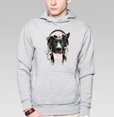 Пёс меломан - Толстовка с койотом