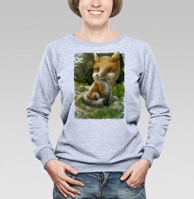 Рыжий - Купить детские свитшоты с природой в Москве, цена детских свитшотов с природой  с прикольными принтами - магазин дизайнерской одежды MaryJane