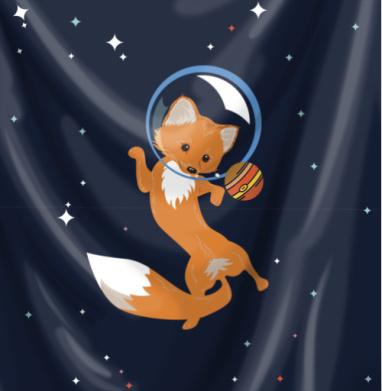 Лисичка и планеты - мило, Популярные