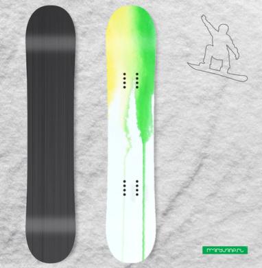 Радуга - Наклейки на доски - сноуборд, скейтборд, лыжи, кайтсерфинг, вэйк, серф