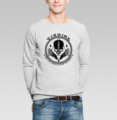 VITRIOL - Купить мужские свитшоты с символами в Москве, цена мужских свитшотов с символом с прикольными принтами - магазин дизайнерской одежды MaryJane
