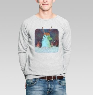 Ночная скрипка - Купить мужские свитшоты с природой в Москве, цена мужских свитшотов с природой  с прикольными принтами - магазин дизайнерской одежды MaryJane