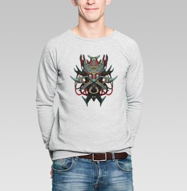 Киберфейс - Купить мужские свитшоты с лицом в Москве, цена мужских  с лицом  с прикольными принтами - магазин дизайнерской одежды MaryJane