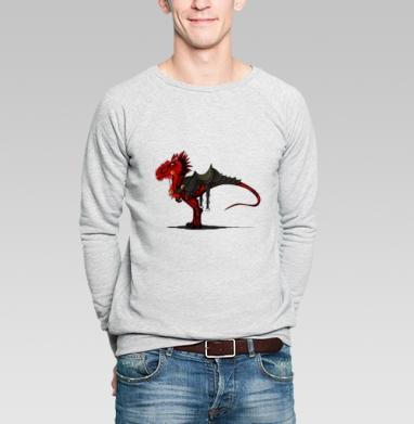 Ездовой динозавр - Купить мужские свитшоты с играми в Москве, цена мужских  с играми  с прикольными принтами - магазин дизайнерской одежды MaryJane