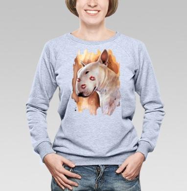 Бультерьер - Купить детские свитшоты с собаками в Москве, цена детских свитшотов с собаками  с прикольными принтами - магазин дизайнерской одежды MaryJane