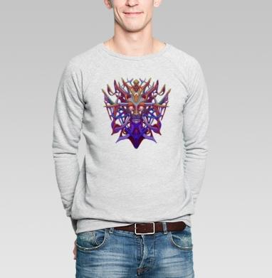 Высший андроид  - Купить мужские свитшоты с лицом в Москве, цена мужских  с лицом  с прикольными принтами - магазин дизайнерской одежды MaryJane
