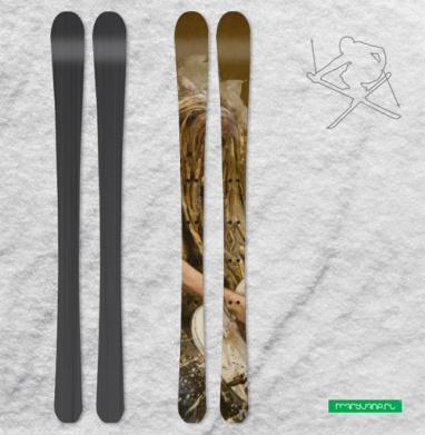 Да будет РОК - Наклейки на лыжи