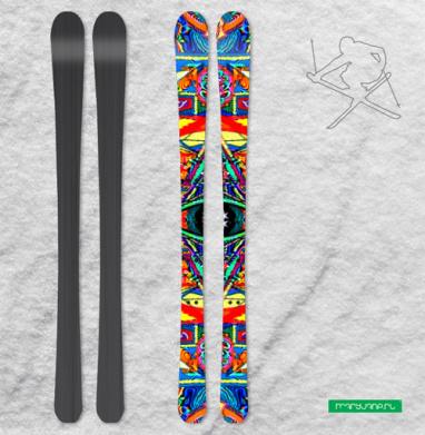 Озарение - Наклейки на лыжи