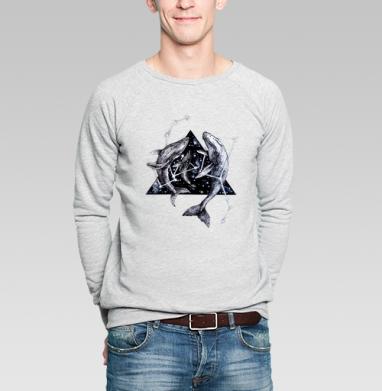 Межгалактические киты - Купить мужские свитшоты нежность в Москве, цена мужских  нежность  с прикольными принтами - магазин дизайнерской одежды MaryJane