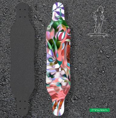 Тайна тропиков - Наклейки на лонгборд