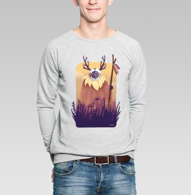 Дух рассвета - Купить мужские свитшоты с природой в Москве, цена мужских свитшотов с природой  с прикольными принтами - магазин дизайнерской одежды MaryJane