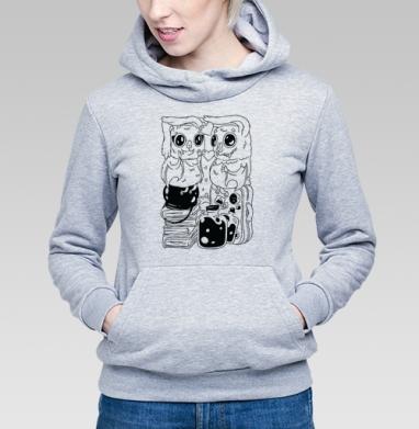 Влюбленные летучие мыши - Купить детские толстовки парные в Москве, цена детских толстовок парных  с прикольными принтами - магазин дизайнерской одежды MaryJane