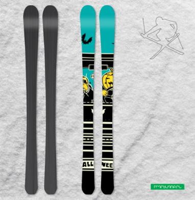 Тыкваголовые - Наклейки на лыжи