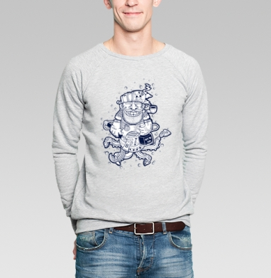 Кок - Купить мужские свитшоты модные в Москве, цена мужских свитшотов модных  с прикольными принтами - магазин дизайнерской одежды MaryJane
