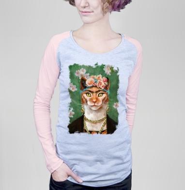 Фрида Кало моими глазами - Футболки с длинным рукавом женские. Новинки
