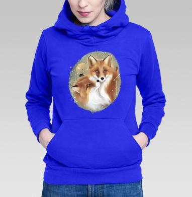 Влюбленные лисы - Толстовки с лисой