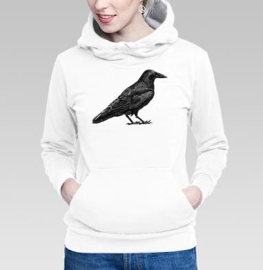 Чёрный ворон - Купить женскую толстовку