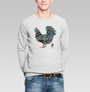 Курочка - Купить мужские свитшоты с птицами в Москве, цена мужских свитшотов с птицами  с прикольными принтами - магазин дизайнерской одежды MaryJane