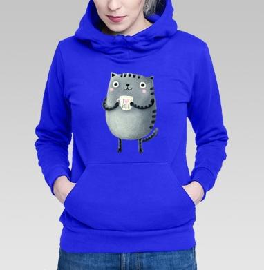 Кот I♥kill - Длинные женские толстовки женские в интернет-магазине