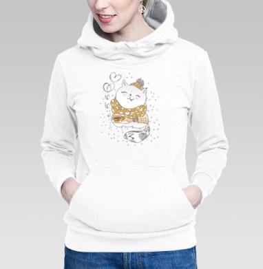 Толстовка Женская белая, белый - Каталог продукции интернет-магазина футболок №1 Мэриджейн