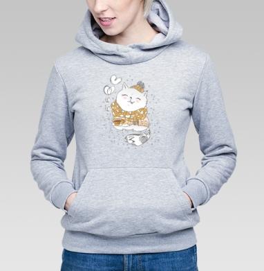 Кофейное настроение  - Купить детские толстовки с илюстрациями в Москве, цена детских толстовок с илюстрациями  с прикольными принтами - магазин дизайнерской одежды MaryJane