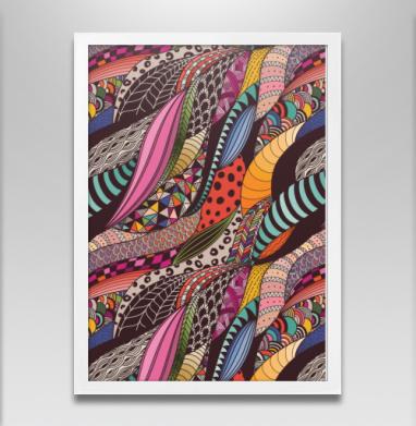 Графика. движение. цвет - Постеры, узор, Популярные