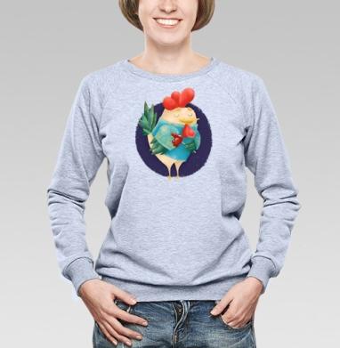 Мечтательный Петушок с петушком - Свитшоты женские. Новинки