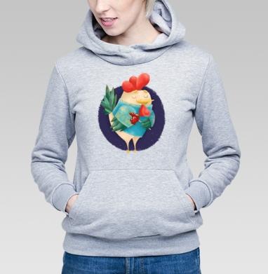 Мечтательный Петушок с петушком - Толстовки женские в интернет-магазине