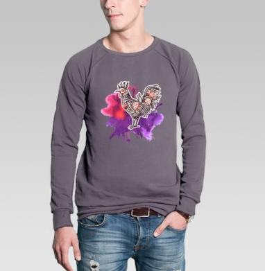 Свитшот мужской без капюшона тёмно-серый, тёмно-серый - Каталог продукции интернет-магазина футболок №1 Мэриджейн