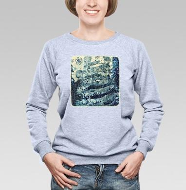 Хранитель зимнего леса - Свитшоты женские