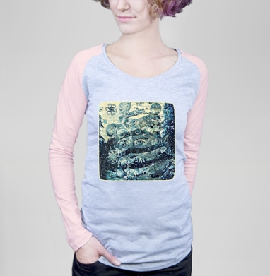 Хранитель зимнего леса - Футболки с длинным рукавом женские. Новинки