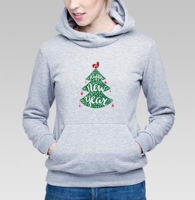 Зеленая елка - Толстовки женские в интернет-магазине