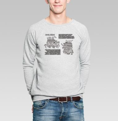 ПОЛЕ БРАНИ двадцать-шестнадцать - Купить мужские свитшоты военные в Москве, цена мужских свитшотов военных с прикольными принтами - магазин дизайнерской одежды MaryJane