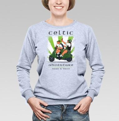 Кельтское приключение - Купить детские свитшоты с мотоциклами в Москве, цена детских свитшотов с мотоциклами  с прикольными принтами - магазин дизайнерской одежды MaryJane