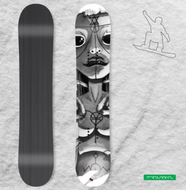 Йоланди - Виниловые наклейки на сноуборд купить с доставкой. Воронеж